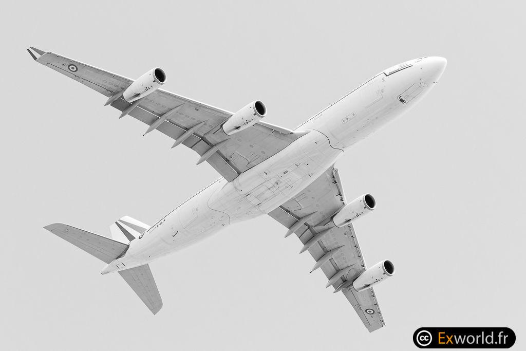 F-RAJA A340 Armée de l'air