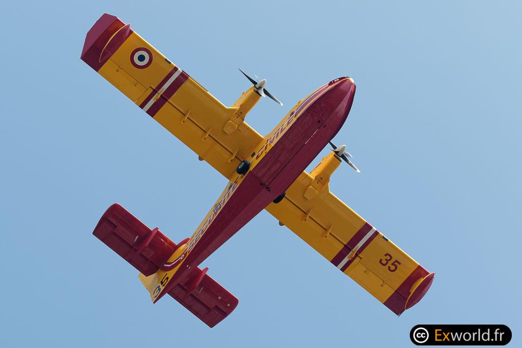 F-ZBFY CL-415 Sécurité Civile