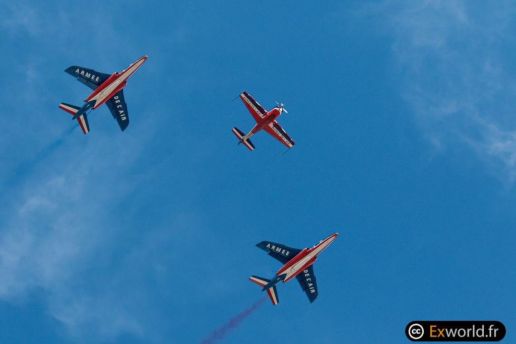 Extra Flugzeugbau Extra 300 et alphajet PAF