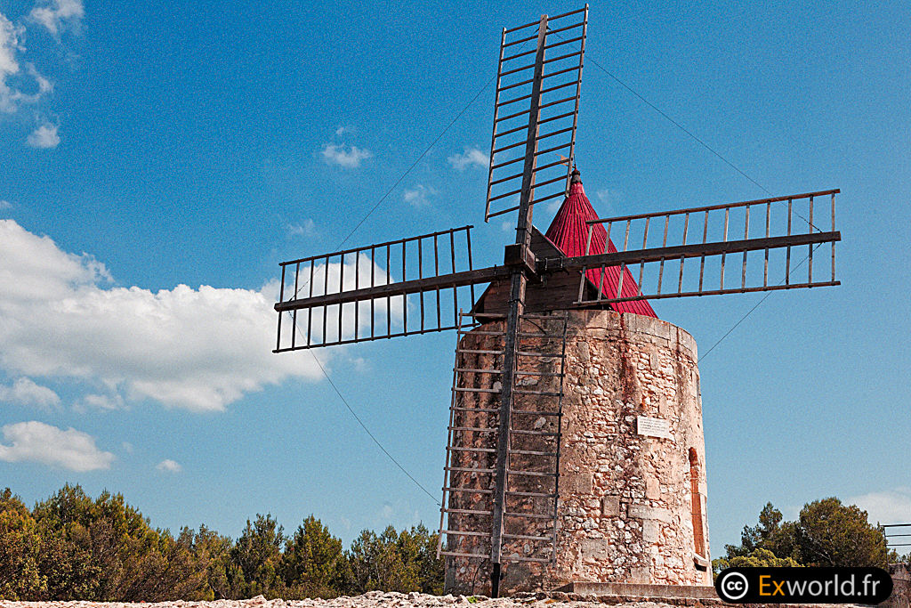 Le moulin Alphonse Daudet