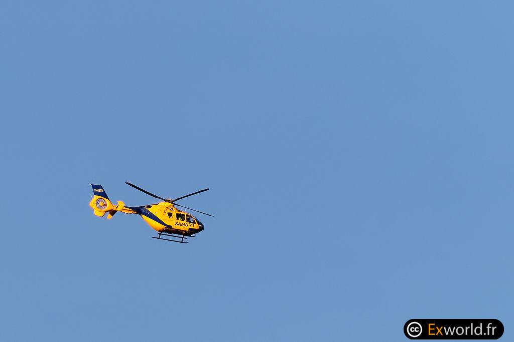 F-HBTN Eurocopter EC135 T2 Babcock MCS France