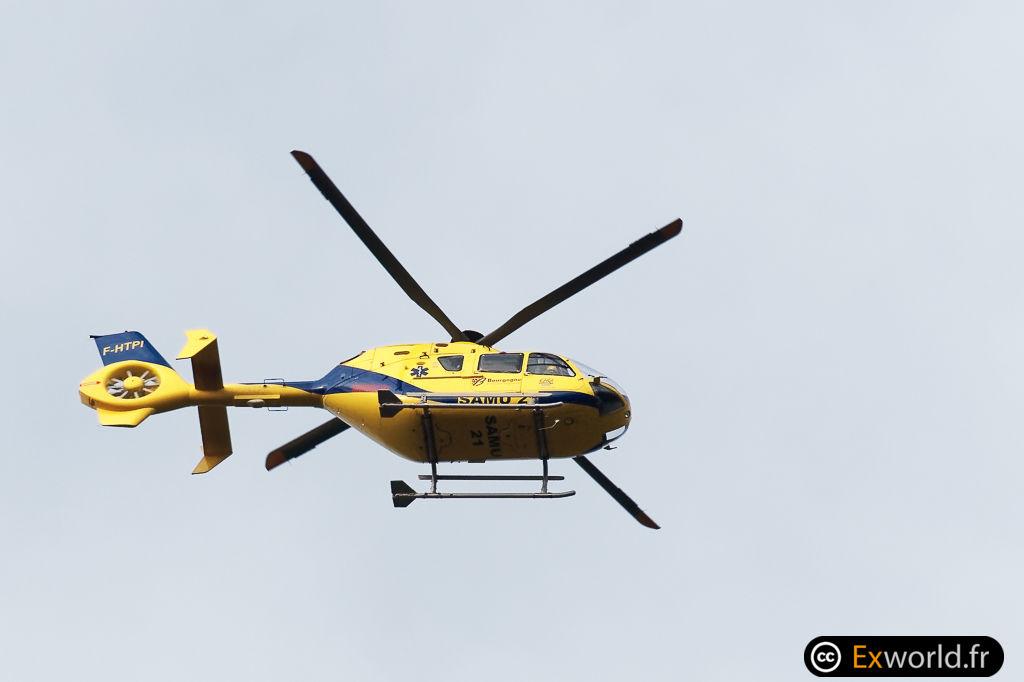 F-HTPI Eurocopter EC135 T2 Babcock MCS France