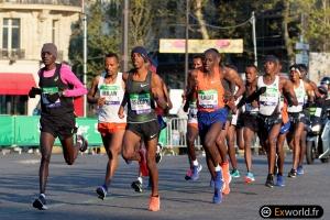 Abrha MILAW vainqueur Marathon de  Paris 2019