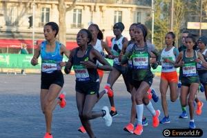 Gelete Burka vainqueur Marathon de Paris 2019