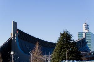 gymnase olympique de yoyogi
