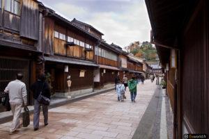 Higashi Chaya Gaï à Kanazawa