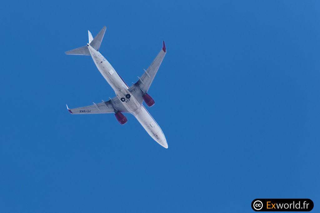 7T-VKE B737-8D6 Air Algérie