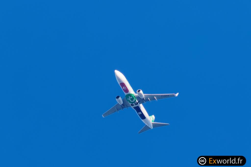 F-GZHA Boeing 737-8GJ Transavia France