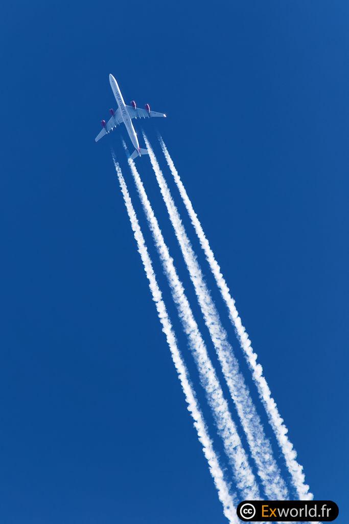 G-VWEB A340-642 Virgin Atlantic Airways