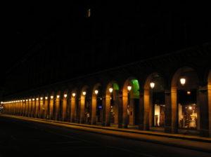les arcades de la rue de Rivoli