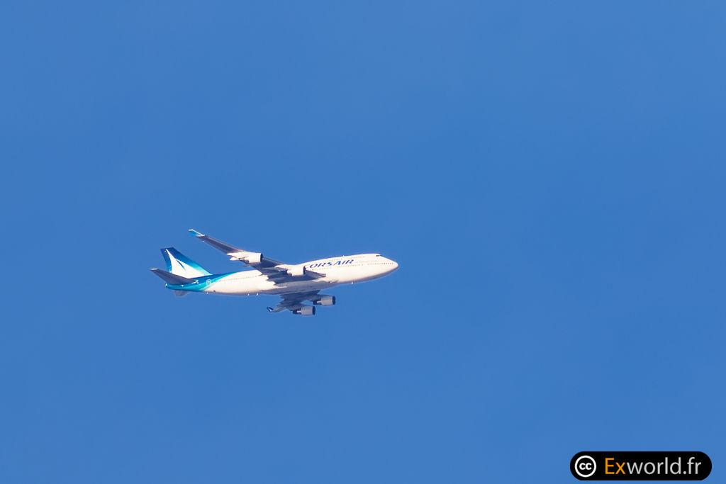 F-GTUI Boeing 747-422 Corsair