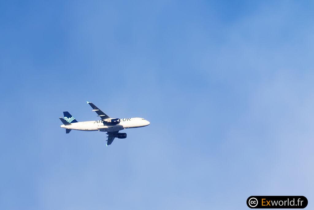 F-HAQD A320-214 Aigle Azur