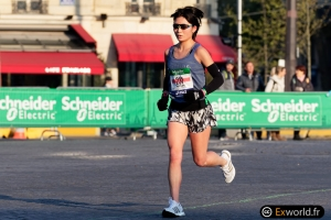 Akiko Sugo Marathon de Paris 2019