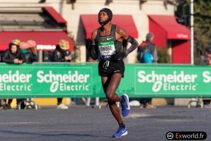 Augustine Choge Marathon de Paris 2019