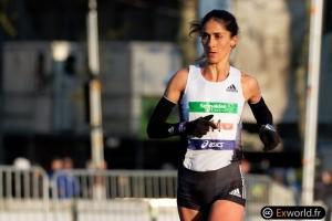 Sara Moreira Marathon de Paris 2019