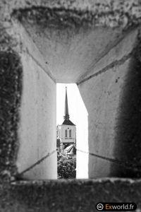 Eglise Saint Pierre from castle