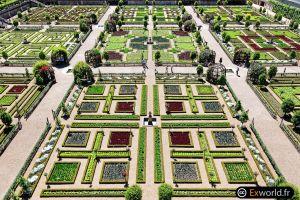 Villandry's garden