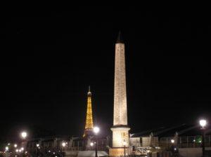 Obelisque et Tour Eiffel