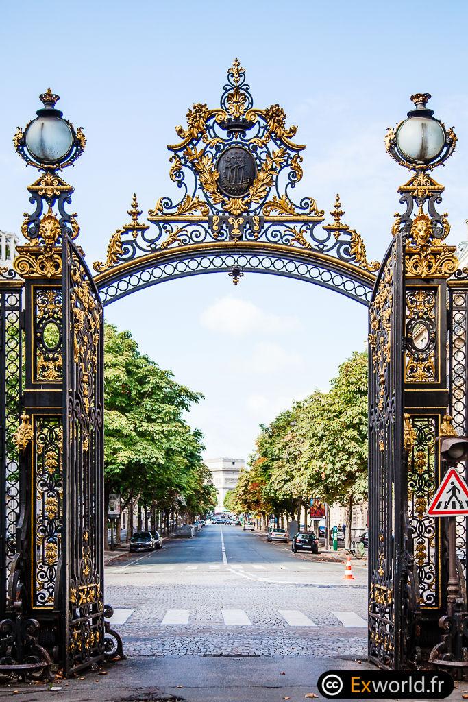 Portail du parc Monceau