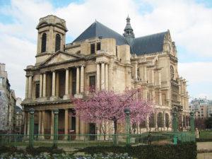 Eglise Saint Eustache avec Sakura