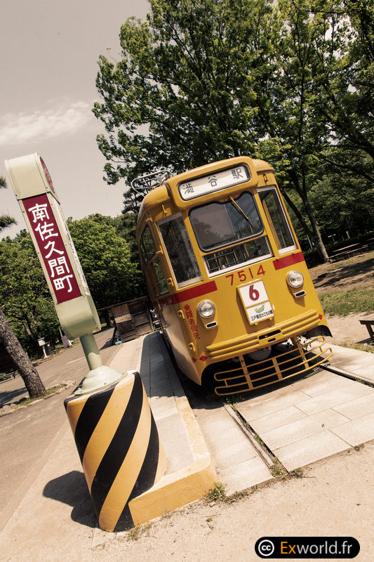 Tram @ Edo Tokyo Tatemono En