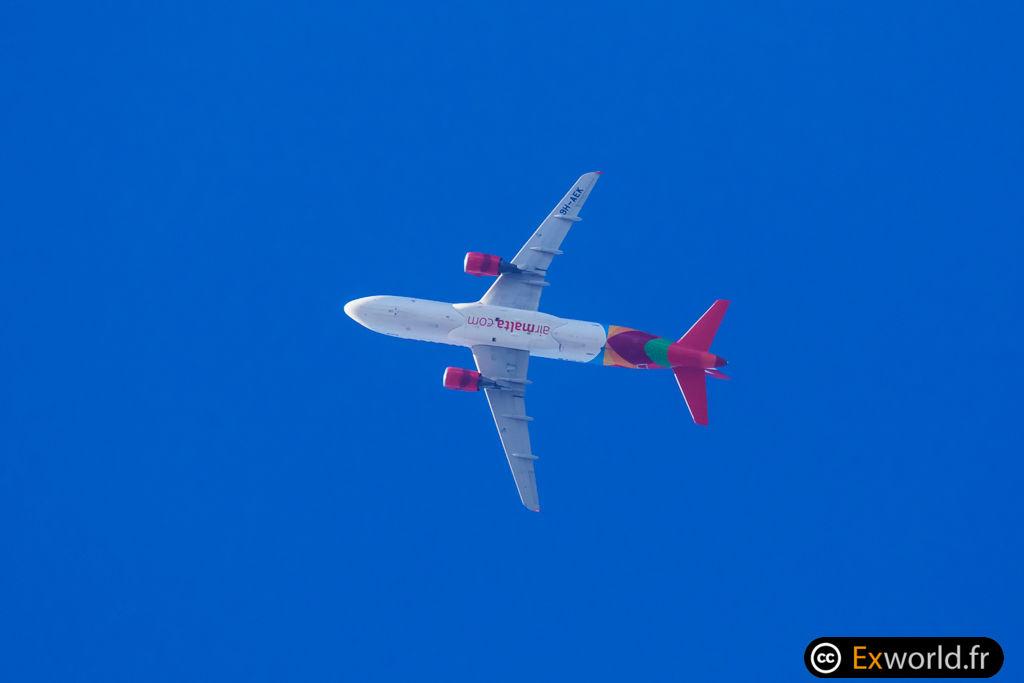 A320-14 9H-AEK Air Malta