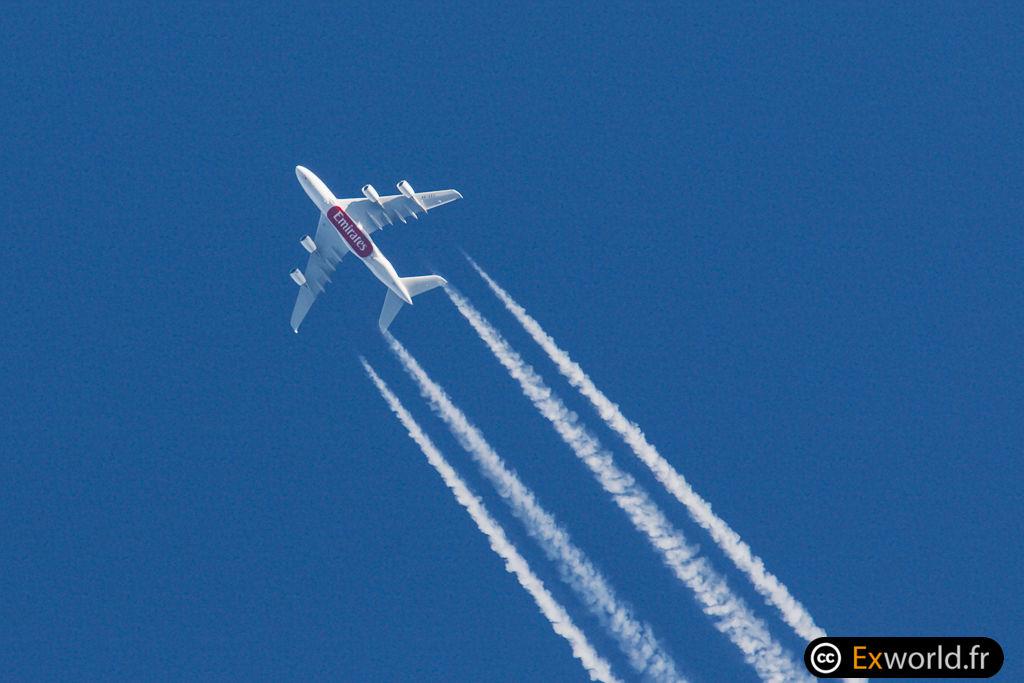 A380-861 A6-EEZ Emirates