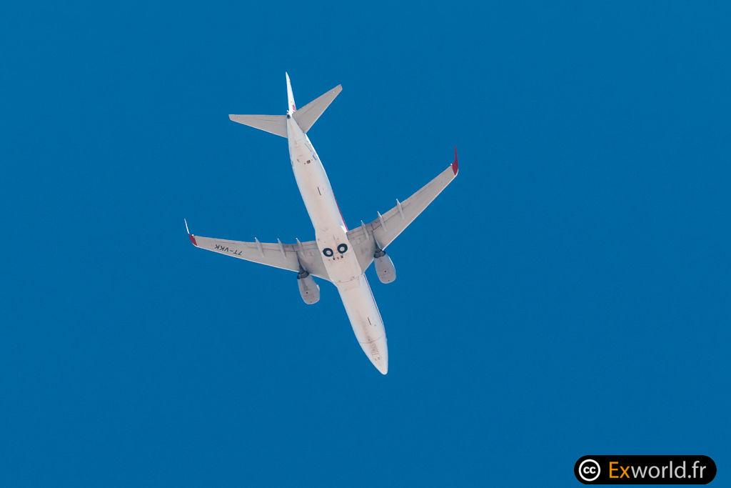 B737-8D6 7T-VKK Air Algerie