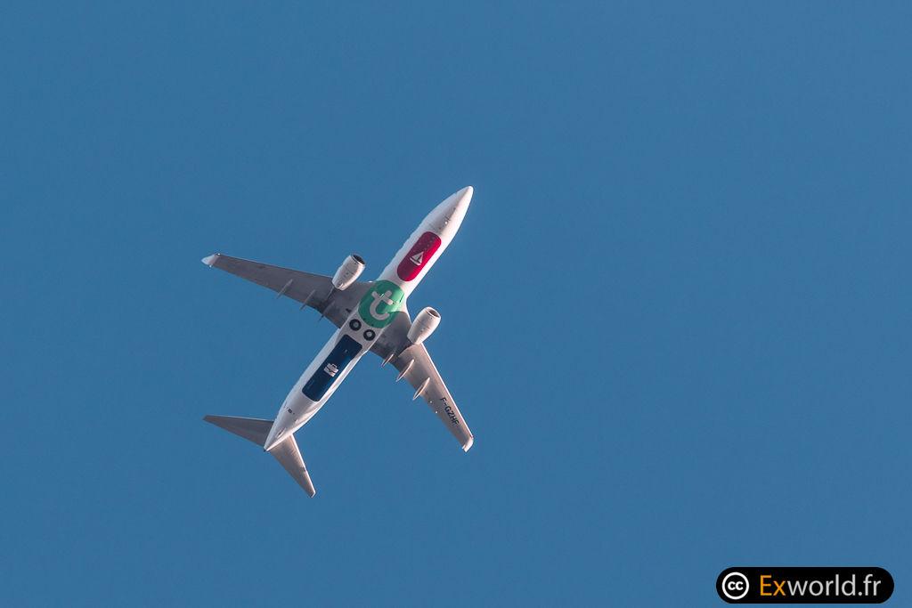 B737-8HX F-GZHF Transavia