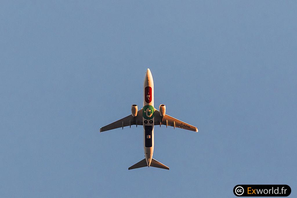 B737-8K2 F-GZHR Transavia France