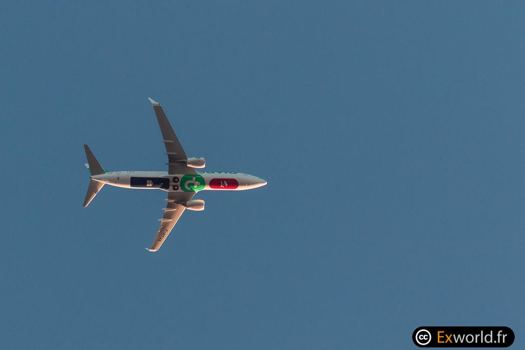 B737-8K2 F-HTVA Transavia