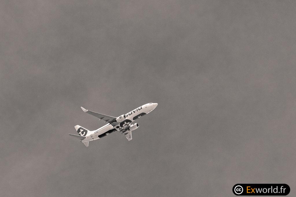 B737-8K2 F-HTVB Transavia France