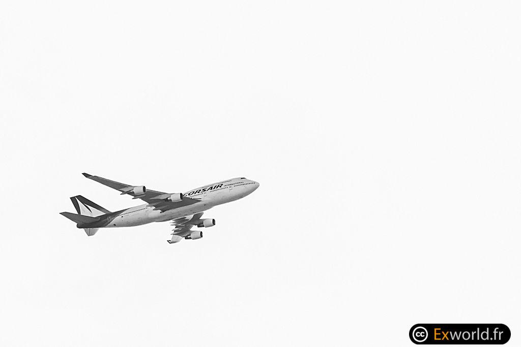 B747-422 F-HSEA Corsair