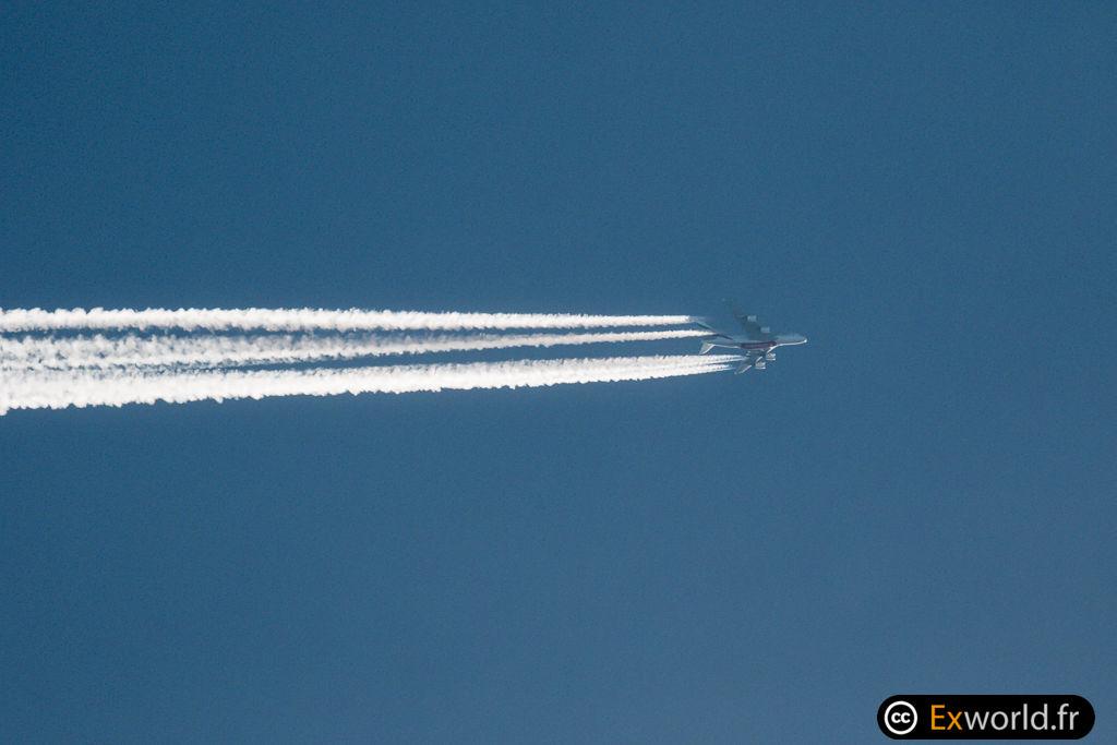 Contrail A380