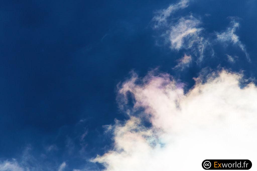 Nuage iridescent