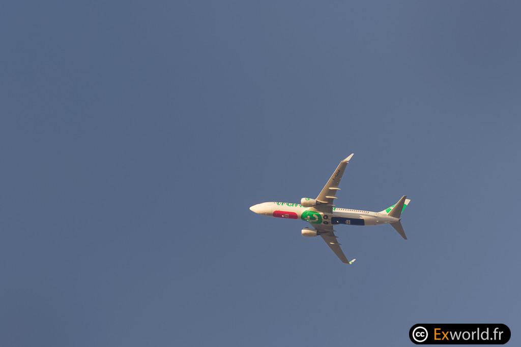 F-GZHF Boeing 737-8HX Transavia France