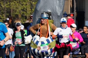 Obelix Marathon de Paris 2019